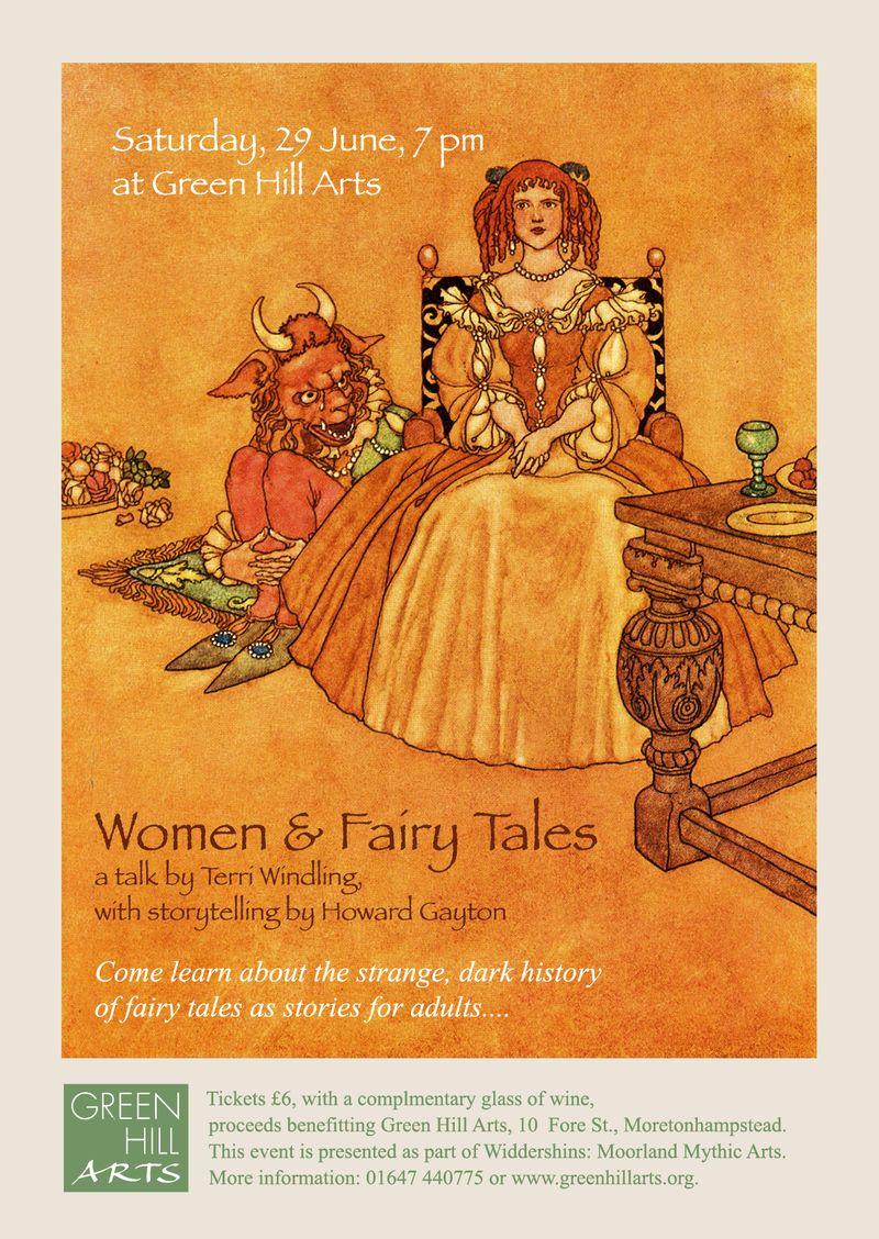 Fairy Tale talk poster