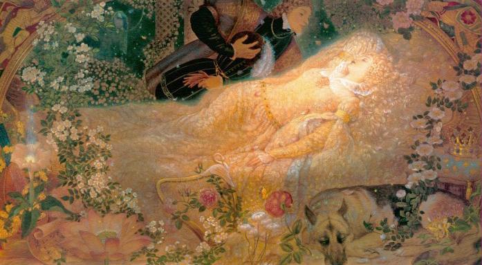 Illustration for Sleeping Beauty by Kinuko Y. Craft