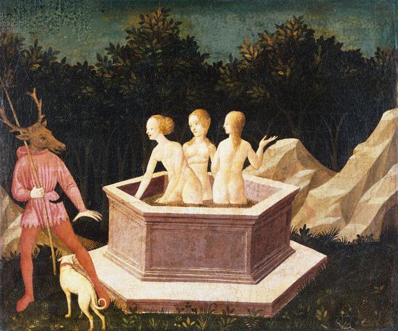 Diana and Acteon by Domenico Veneziano
