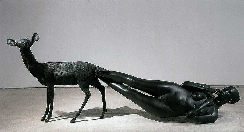 Born by Kiki Smith