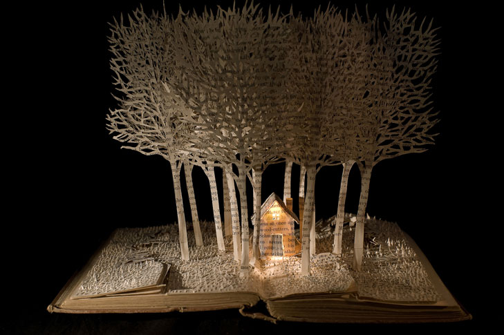 Grandmother's House in the Forest by Su Blackwell