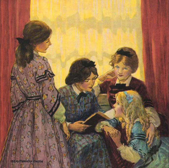 Little Women by Jessie Willcox Smith