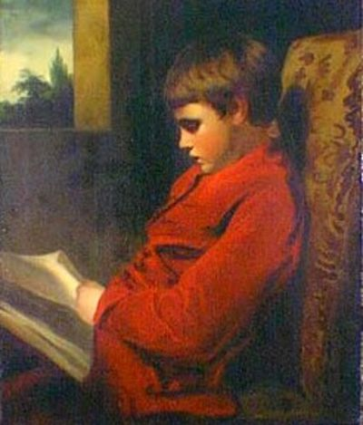The Reading Boy by Joshua Reynolds