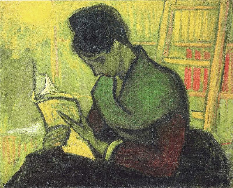 The Novel Reader by Vincent Van Gogh