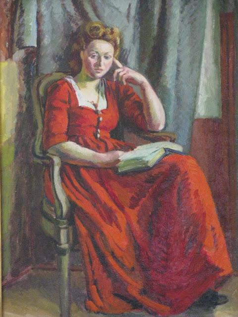 Portrait of Chattie Salaman by Duncan Grant