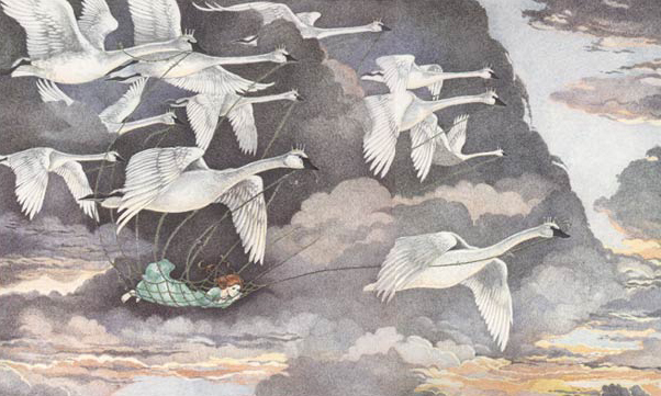 The Wild Swans, illustrated by Susan Jeffers