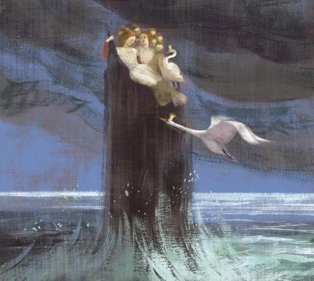 The Wild Swans, illustrated by Anna and Elena Balbusso