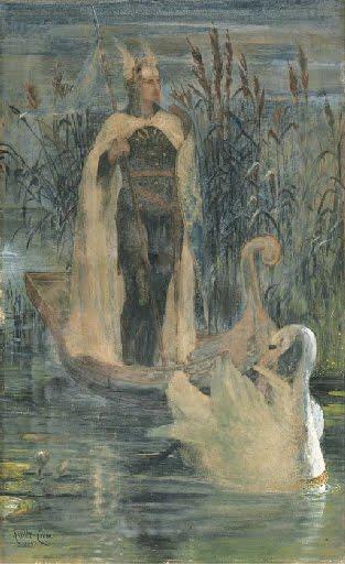Lohengrin by Walter Crane