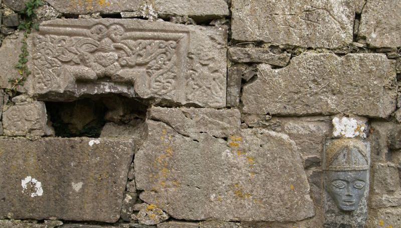 Sheela-Na-Gig carving