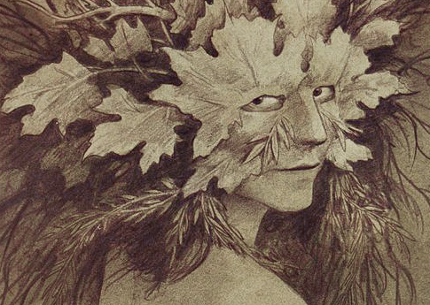 The Green Woman by Brian Froud