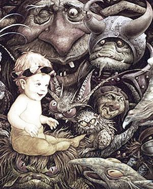 Toby and the Goblins by Brian Froud