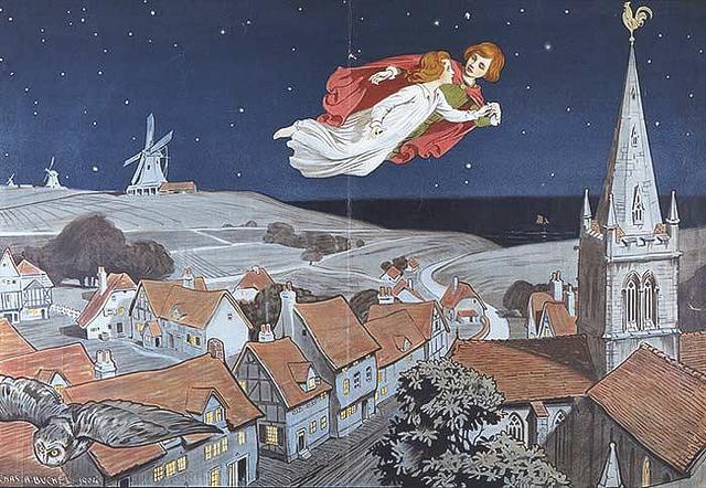 Peter Pan by Charles Buchel (1872-1950)