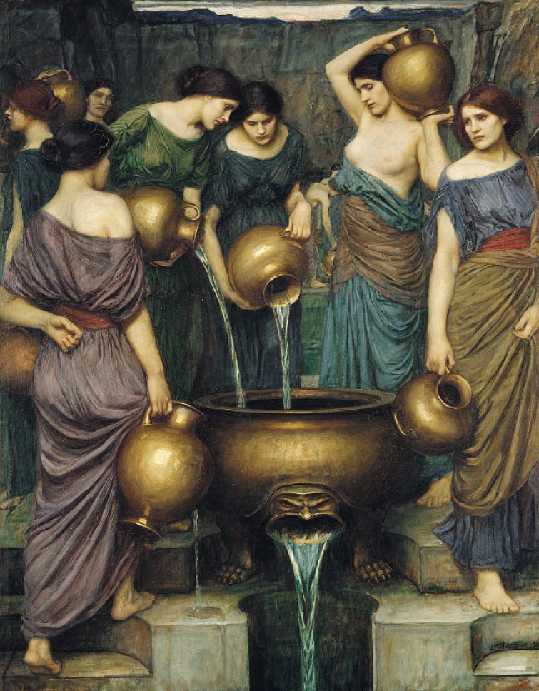 The Danaides by John William Waterhouse