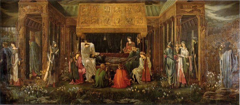 The Last Sleep of Arthur by Sir Edward Burne-Jones