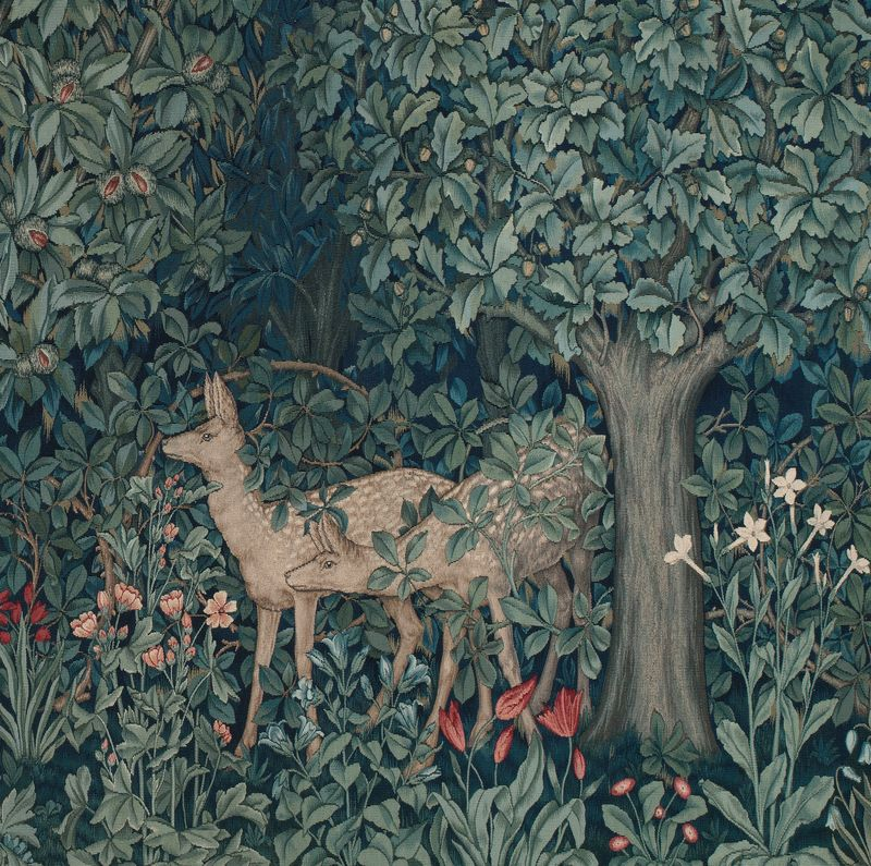 Woodland tapestry detail