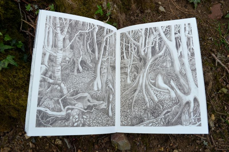 Leshy Forest illustrations by Rima Staines