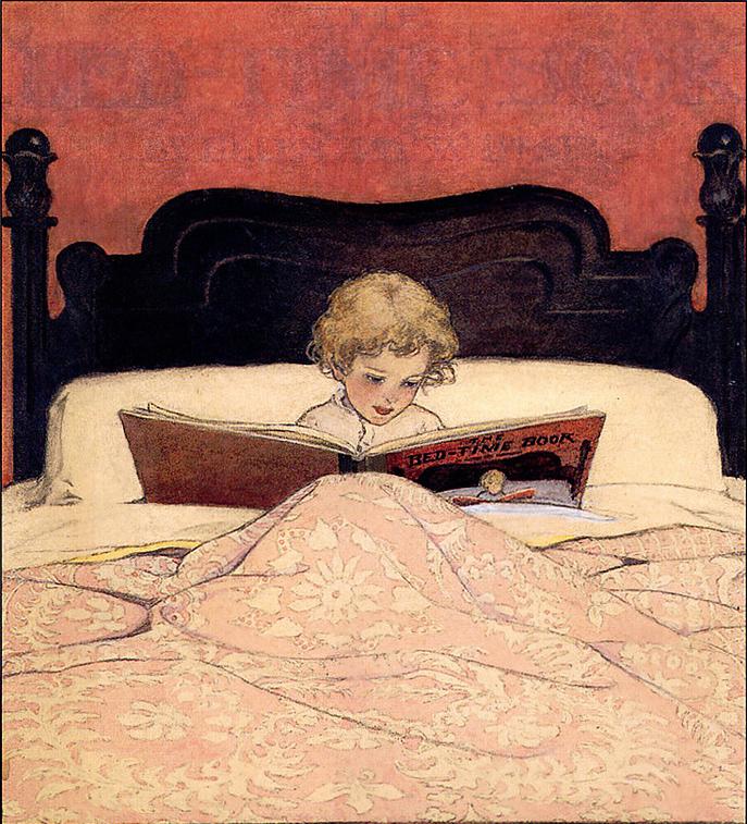 Child Reading by Jessica Willcox Smith