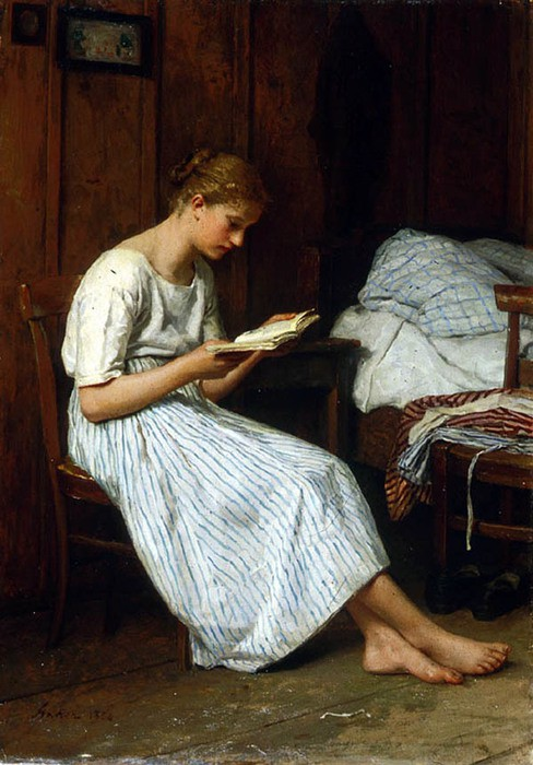 A Gotthelf Reader by Albert Anker