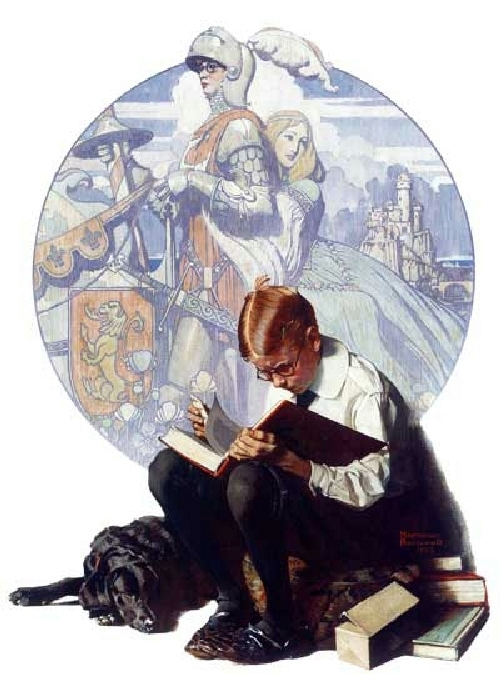 Lands of Enchantment by Norman Rockwell