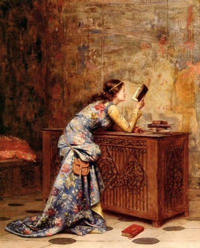 Captivated by Adolphe Alexandre Lesrel