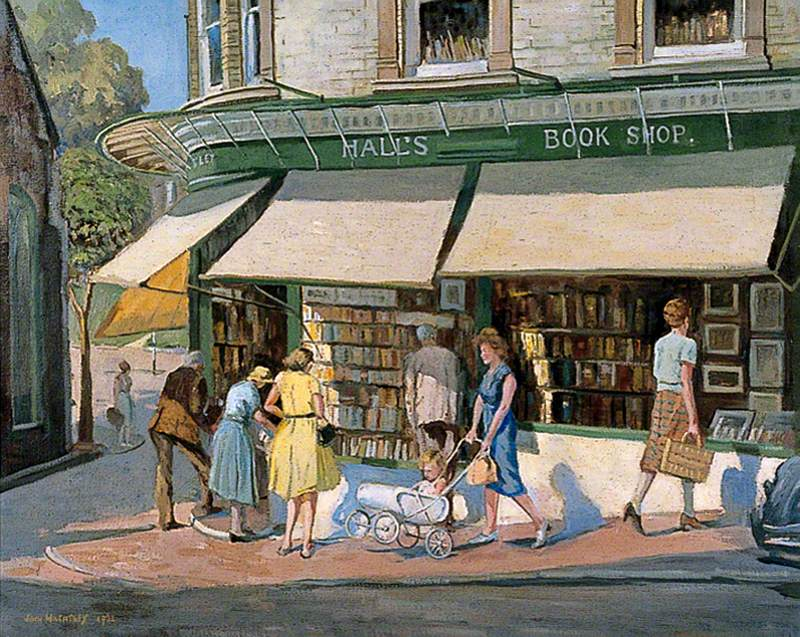 Hall's Bookshop by John Wheatley