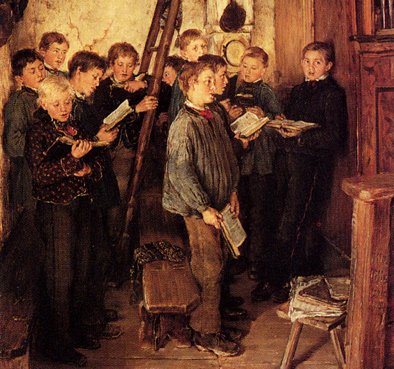 Choir Rehearsal by Otto Piltz