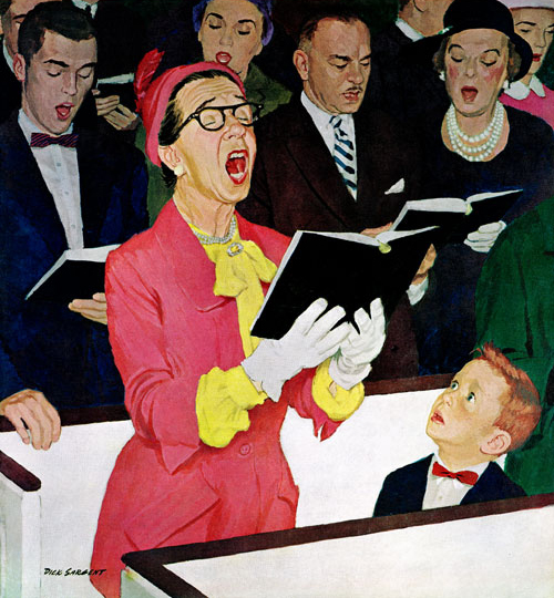 Singing Praise by Dick Sargent