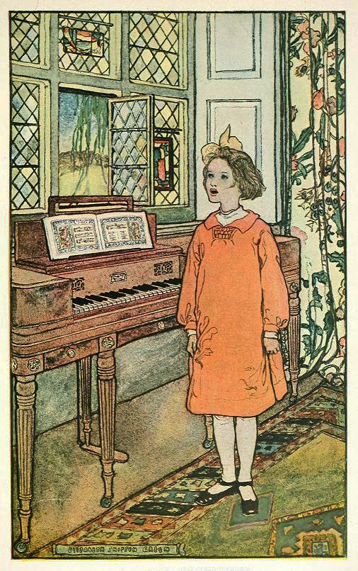 The Green Singing Book by Elizabeth Shippen Green