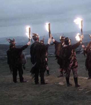 A Fire Dance on Dartmoor