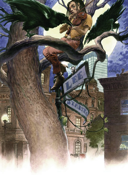Tapping the Dream Tree by Charles Vess