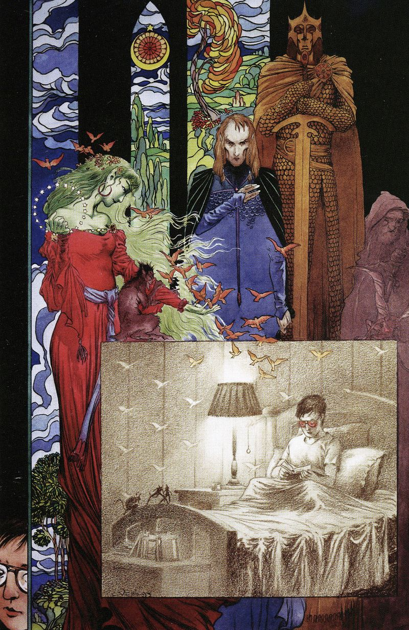 The Books of Magic, Volume 1 by Charles Vess