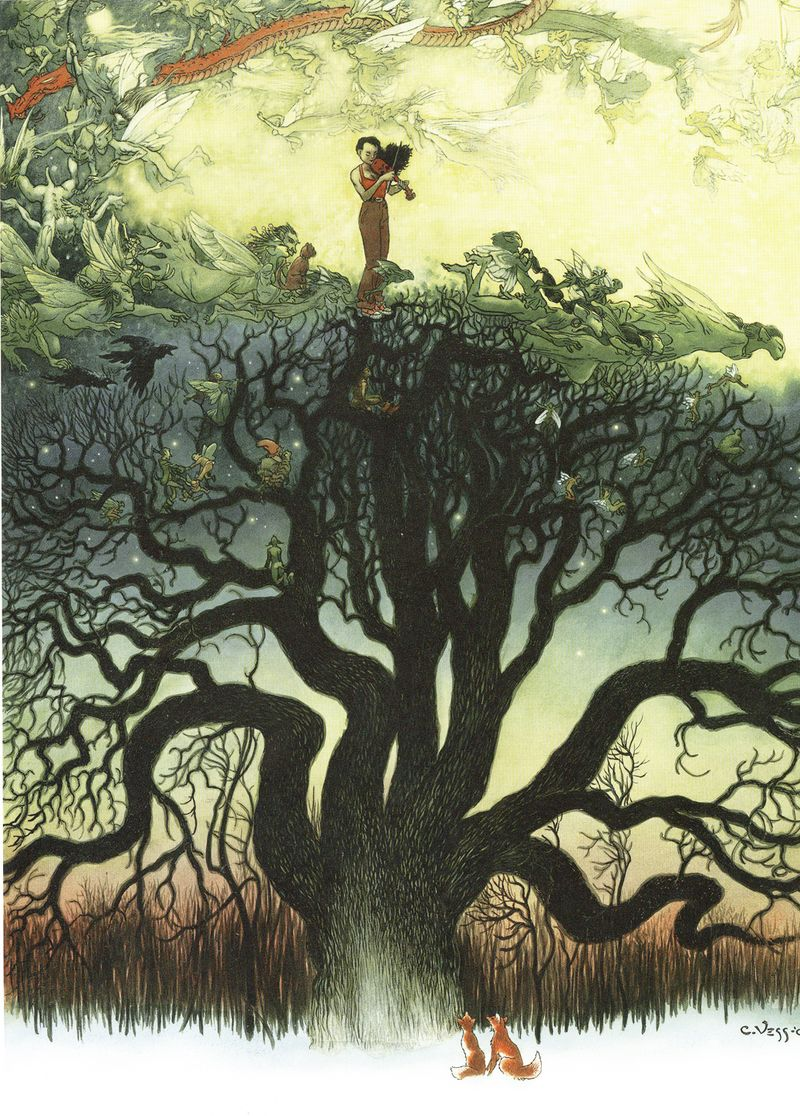 The Faery Reel by Charles Vess