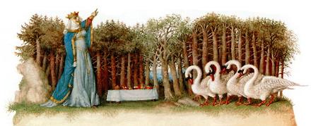 The Wild Swans by Gennady Spirin