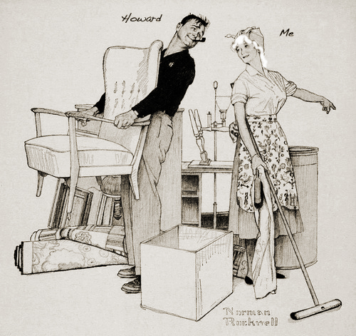 Moving Day by Norman Rockwell