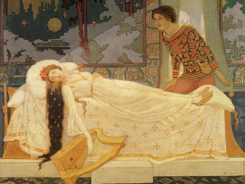 Sleeping Beauty by John Duncan