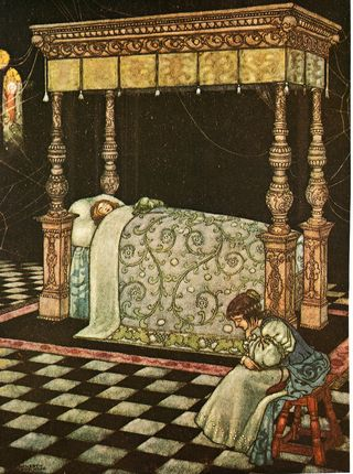 Sleeping Beauty by William Heath Robinson