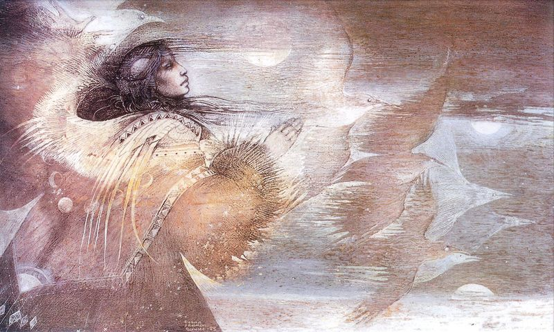 Shadow Play by Susan Seddon Boulet