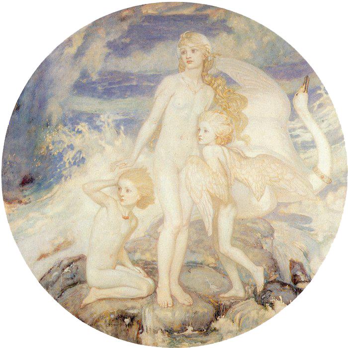 The Children of Lir by John Duncan