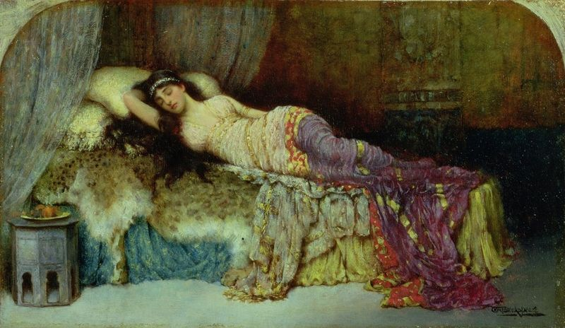 Sleeping Beauty by William Breakspeare