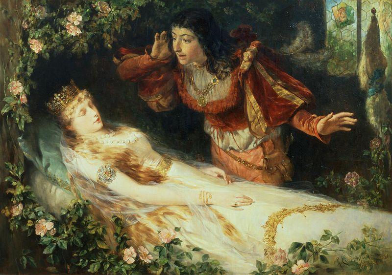 Sleeping Beauty by Richard Eisermann