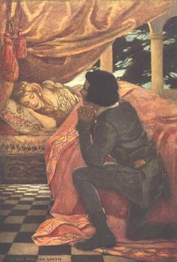 Sleepin Beauty by Jessie Willcox Smith