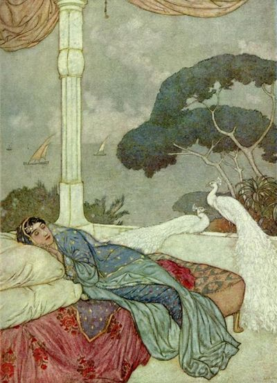 Arabian Nights by Edmund Dulac