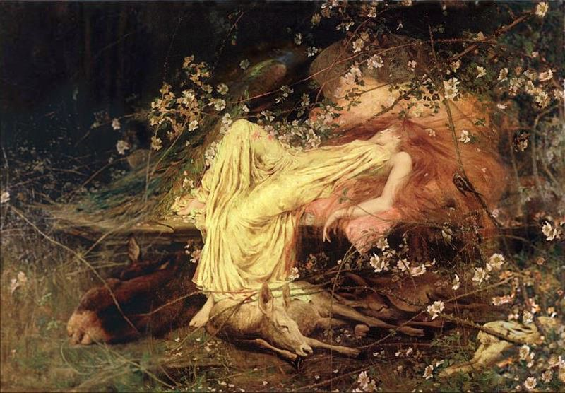 Sleeping Beauty by Arthur Wardle