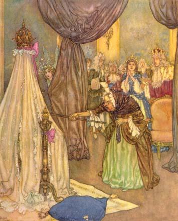 Sleeping Beauty by Edmund Dulac