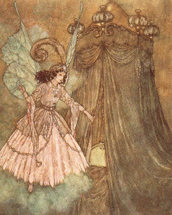 Good Fairy by Edmund Dulac