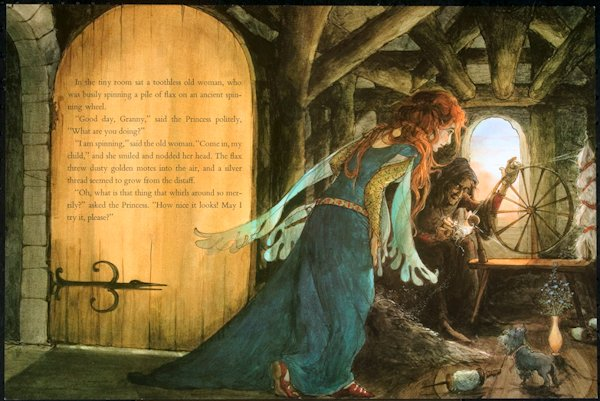 Sleeping Beauty and the Spinning Wheel by Trina Schart Hyman