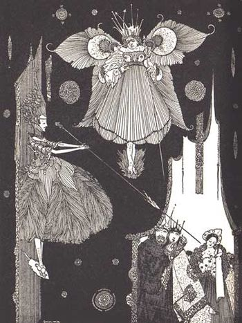 The Thirteenth Fairy by Harry Clarke