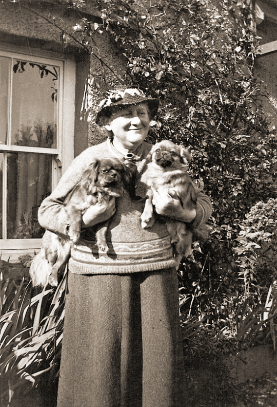 Beatrix Potter and her dogs