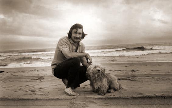 Edward Albee and Poochi