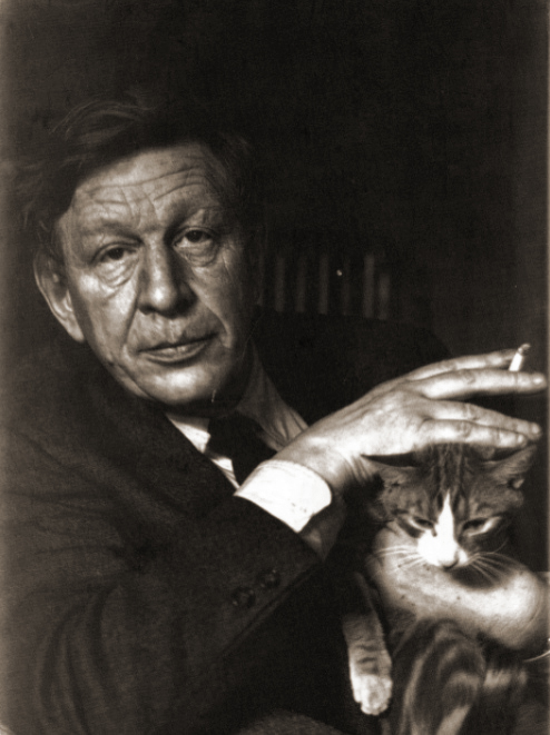 W.H. Auden and his cat